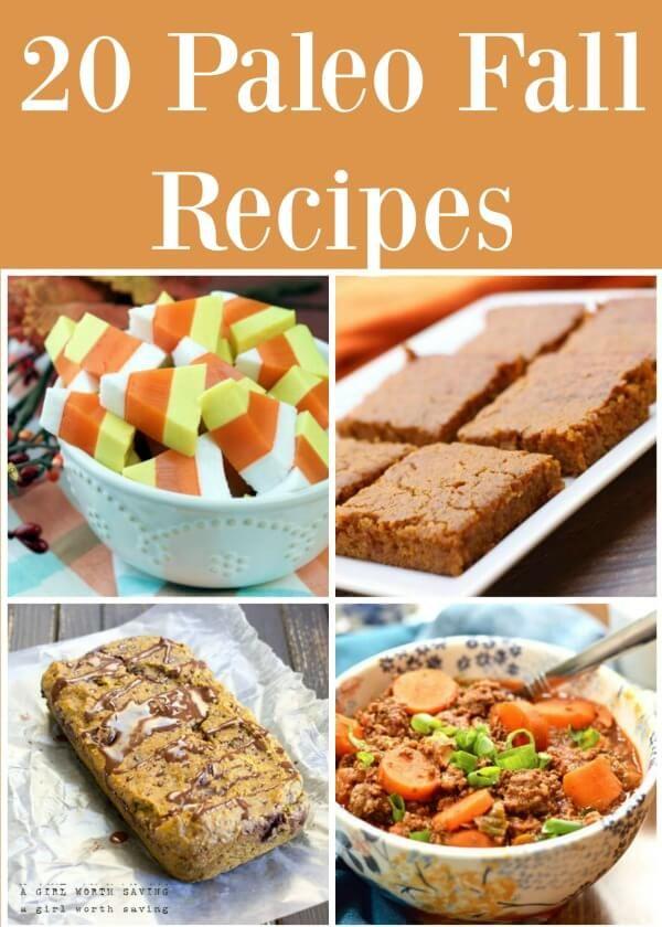 20 Paleo Fall Recipes - These all look SOOO yummy!!