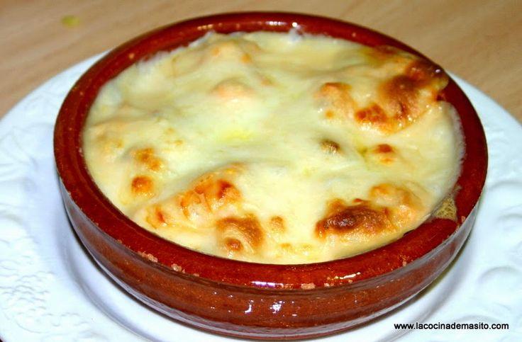 Huevos rellenos con bechamel | Cocinar en casa es facilisimo.com