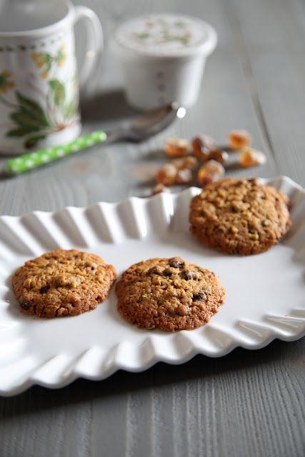 Coccole di dolcezza: Cookies al cioccolato