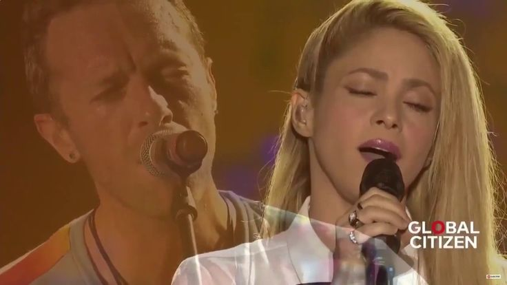 Coldplay ft  Shakira - Yellow live at Global Citizen Festival Hamburg - YouTube