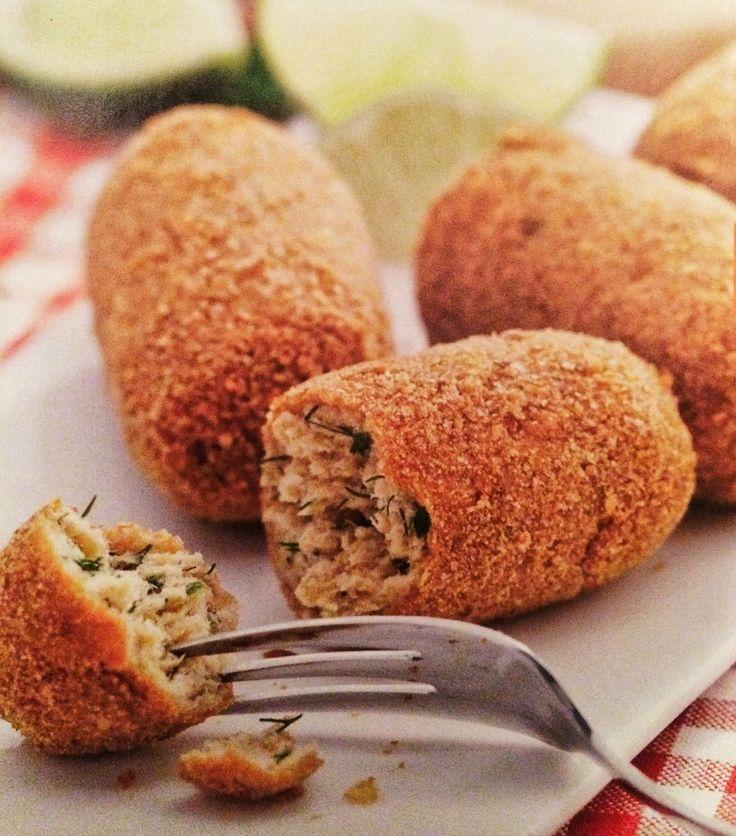 Dish Salmon Croquettes: Di Patate O Salmone Crocchette