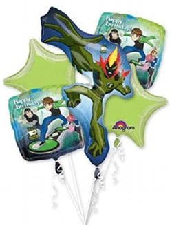 Ben 10 Bouquet Foil Balloons (Each) - Discount Party Supplies