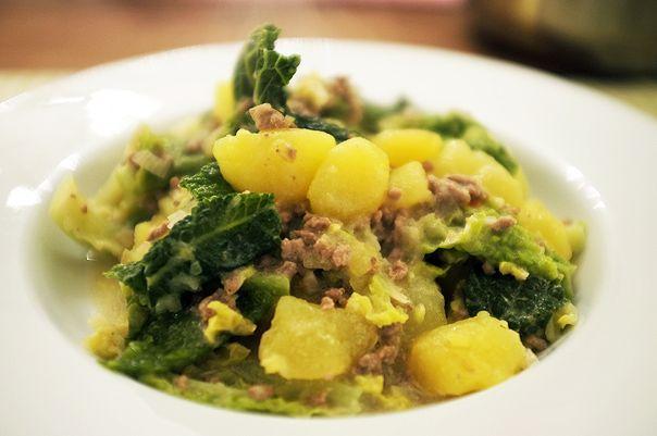 Wirsing-Eintopf mit Kartoffeln & Hackfleisch | Madame Cuisine