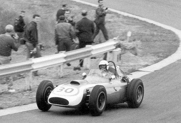 1960 Scarab F1 GP & Chuck Daigh - Formula One Belgium Grand Prix - Photo Poster