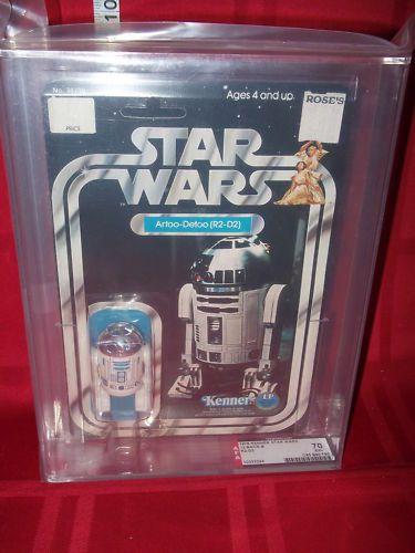 Star Wars Artoo-Detoo R2-D2 12 Back B AFA 70