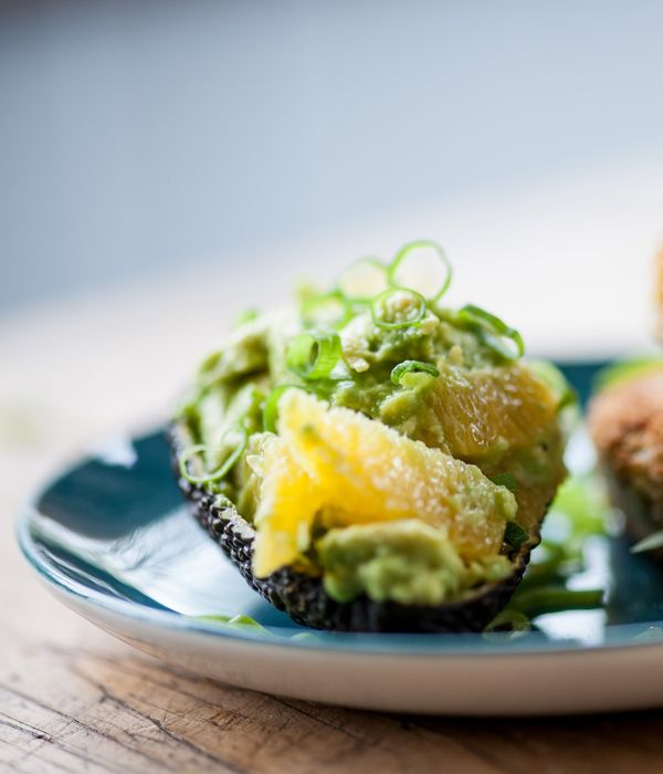 This avocado side recipe from Bruno Loubet makes a speedy accompaniment to fish cakes, pan-fried fish or a host of summery barbecued foods.