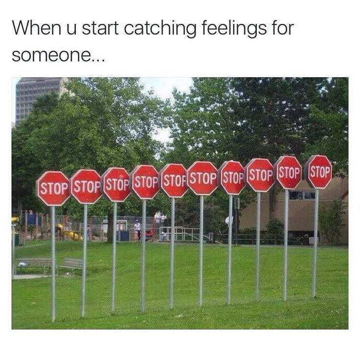 When you start catching feelings for someone, esp. a fuckboy. Stahppp. Dank funny memes shit laughs relationship goals jokes humor