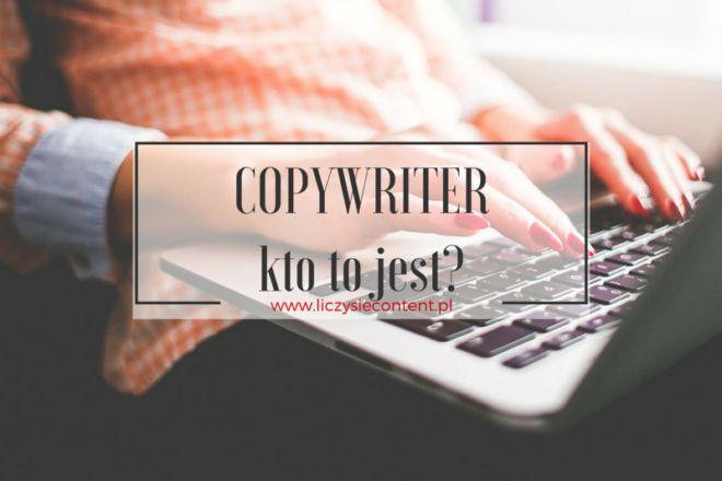 copywriter kto to jest