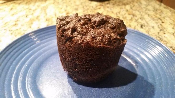 Chocolate Cherry Flax Mug Muffin