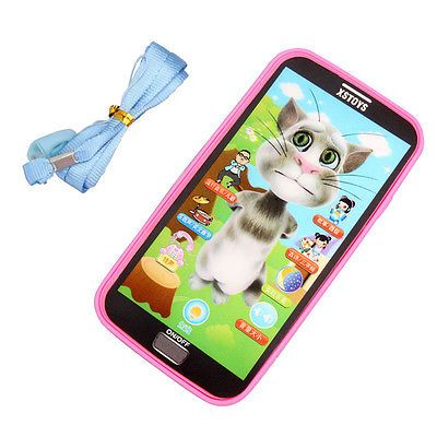 1pc Baby Simulator Music Phone Touch Screen Children Educational Learning Toy Gifts for Boys Girls Kids Toys