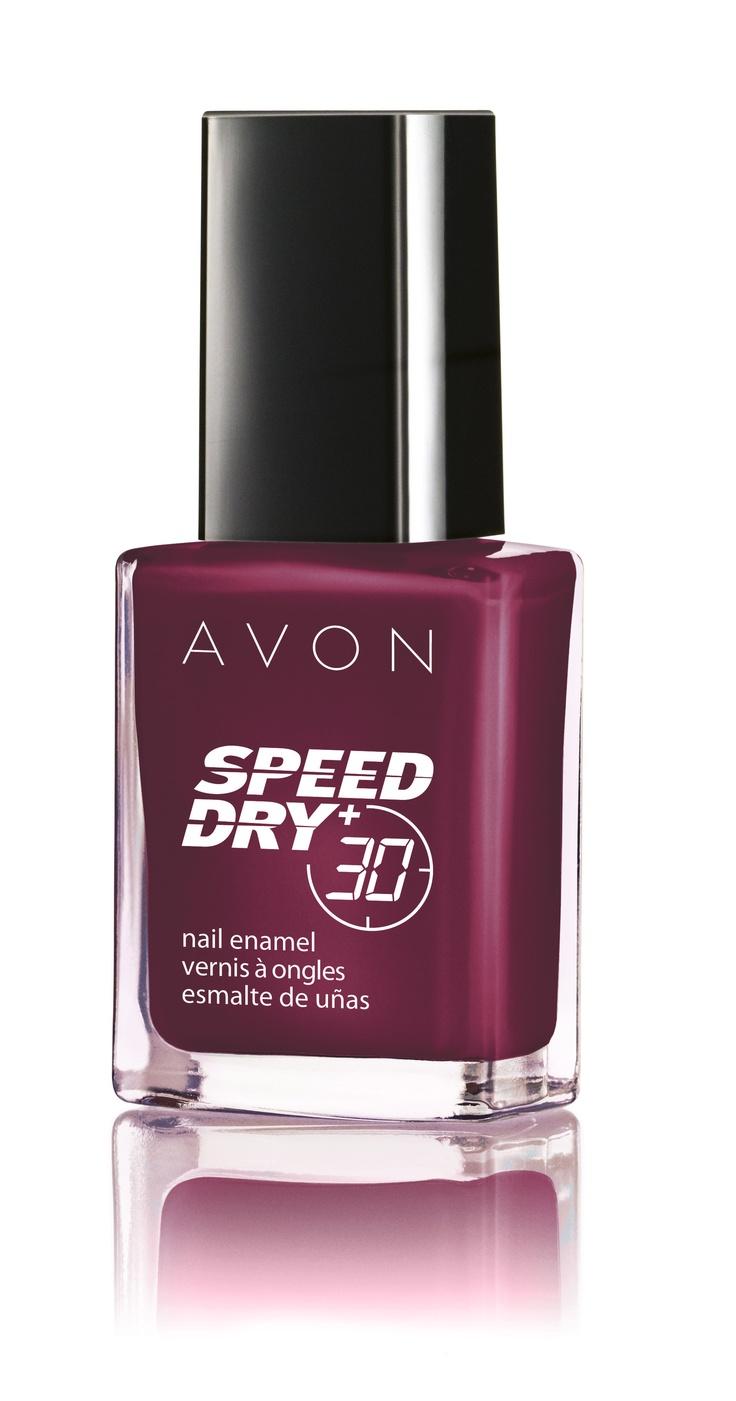 Culoare la viteza maxima cu Speed Dry nuanta Vamp it :)