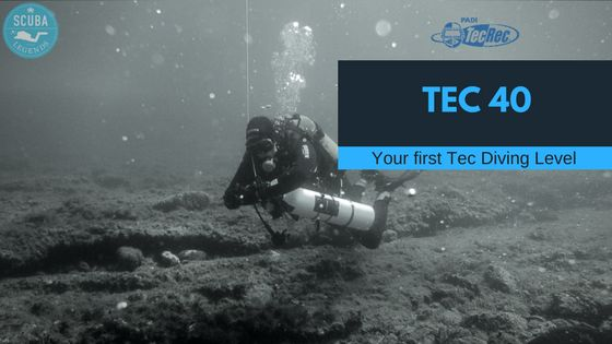 Scuba Legends Academy - Interested in technical diving but you are not sure yet? The Tec 40 course is ideal for you. Join us