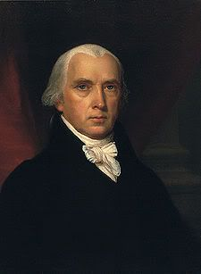 """""""The very definition of tyranny is when all powers are gathered under one place."""" -James Madison"""