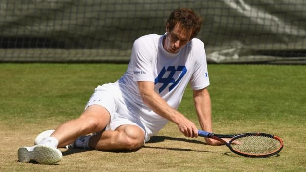 Andy Murray will be seeking to win his third Wimbledon title     Wimbledon 2017 on the BBC     Venue: All England Club Dates: 3-16 July Starts: 11:30 BST   Live: Coverage across BBC TV, BBC Radio and BBC Sport website with further coverage on Red Button, Connected TVs and app. Click for full...