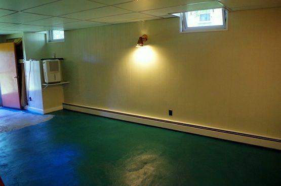 Green floor paint ideas for basement flooring   Flooring Ideas   Floor Design Trends