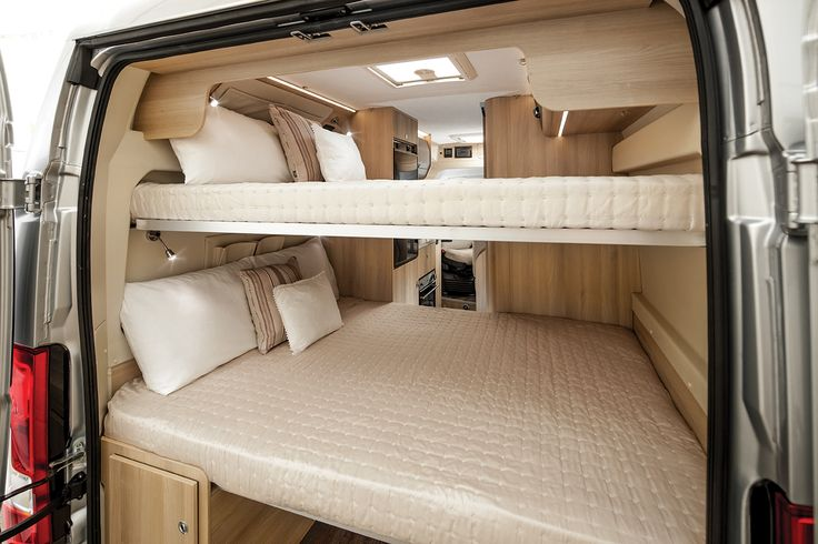 Tribute 669 CAMPERVAN with 2x double Bunk Beds