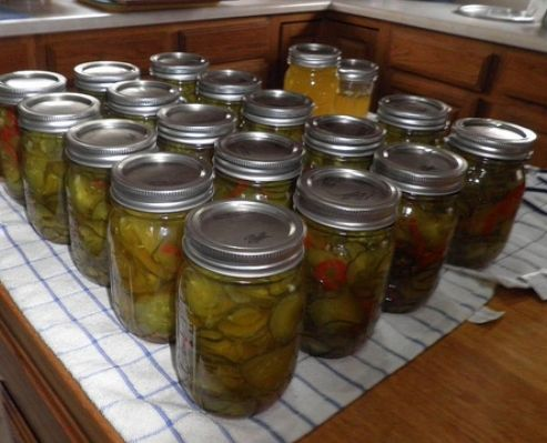 sweet pickles recipe told they are to die for!