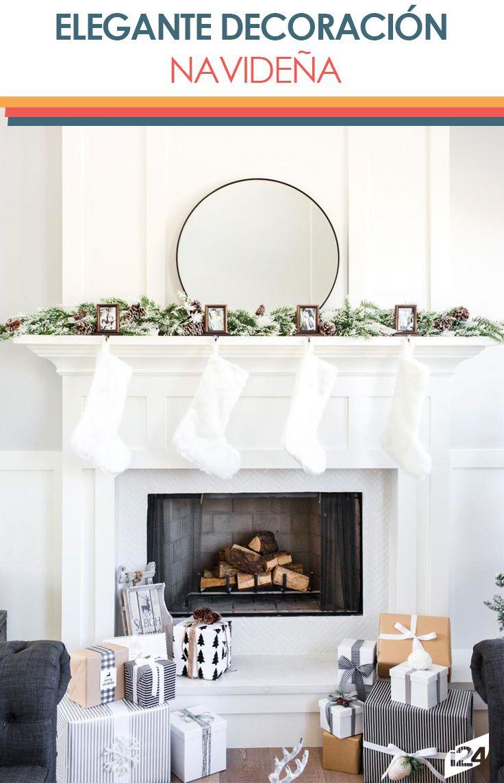 Logra un hermosa y blanca navidad en tu hogar #navidad #christmas #decoración