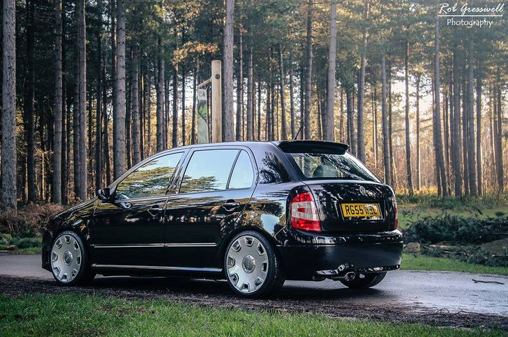 Fabia Vrs on Audi A8 wheels