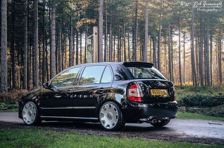 Fabia Vrs on Audi A8 wheels