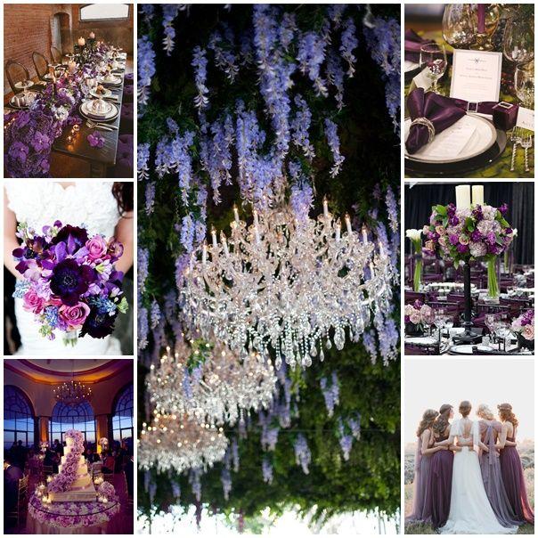 Du mauve, du violet, du prune, ça donne quoi dans un mariage ?