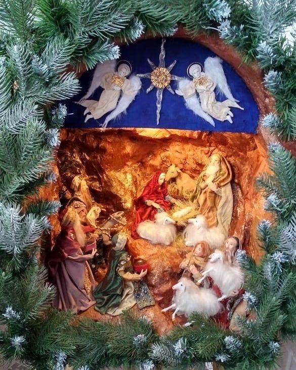 рождество вертеп рисунки - Поиск в Google   Вертеп, Рождество, Рисунки   731x585