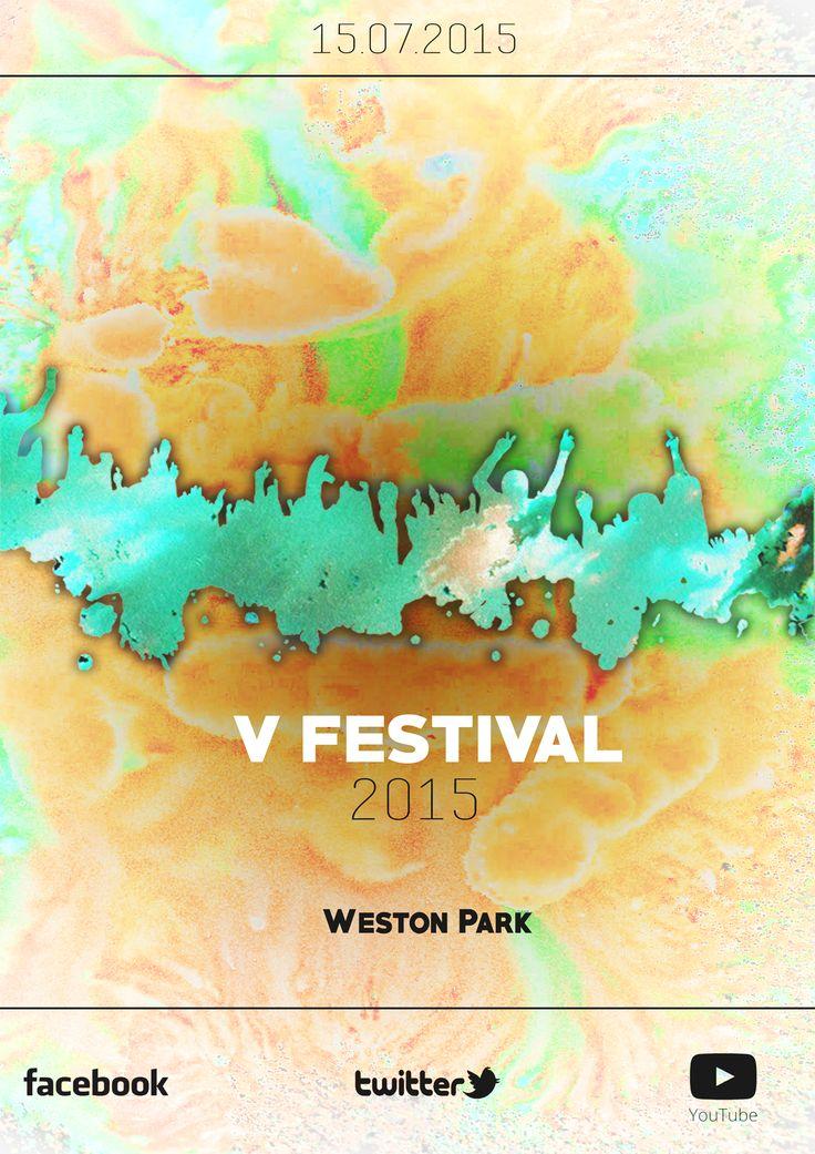 V Festival Inverted Design