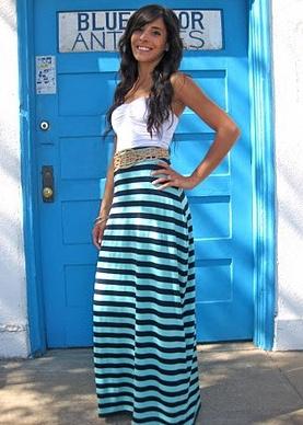 i like this. (:    #whitetank #longskirt #belt #maxidress #fasion #gorgeous: Seafoam Green, Summer Maxi Skirts, Diy Maxi Skirts, Handmade Skirts, Maxi Skirts Tutorials, Maxi Dresses, Beautiful Dresses, Diy Skirts, Green Maxi Skirts