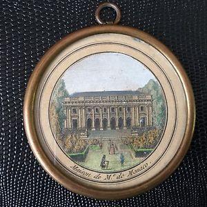 Médaillon XVIIIè Maison De M. de Monaco Gravure 18thC Georgian | eBay