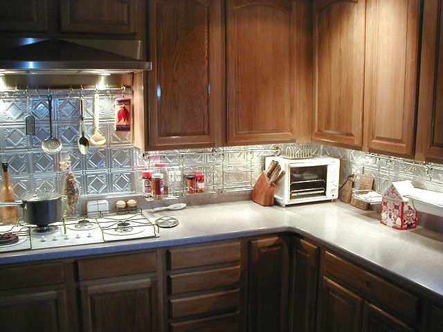 10 Best Images About Metal Backsplash On Pinterest Princess Victoria Kitchen Backsplash And A