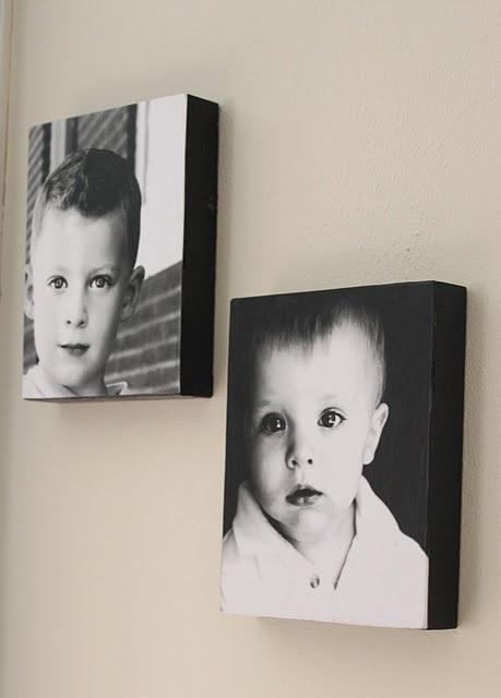 DIY Modpodge photos: Photos Boxes, Modg Podge, Canvas Prints, Photos Canvas, Mod Podge, Diy Canvas, Podge Photos, Modpodge, Photo Boxes