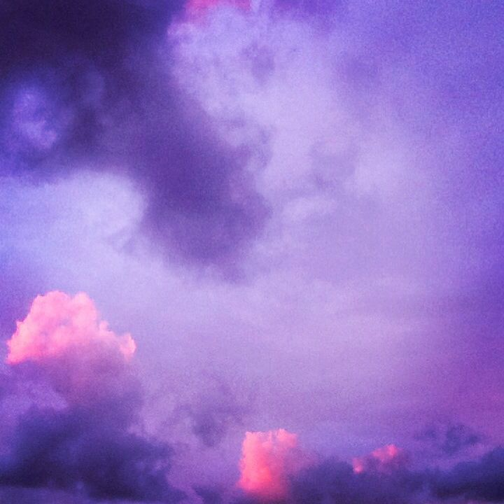 Sky, clouds, colors