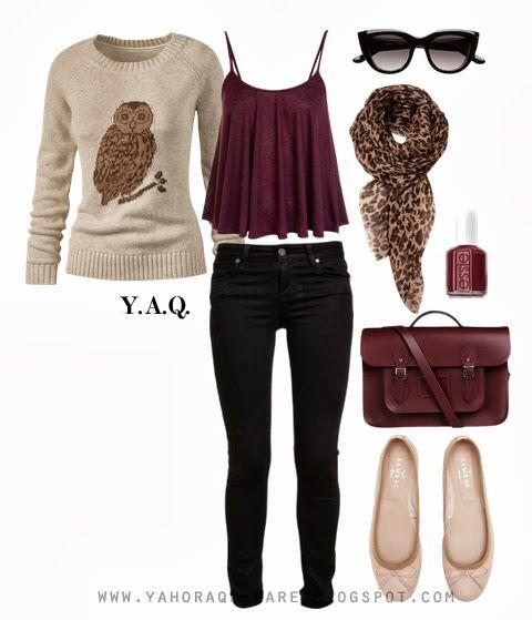 Y. A. Q. - Blog de moda, inspiración y tendencias: [Y ahora qué me pongo en] Un día casual de fin de semana