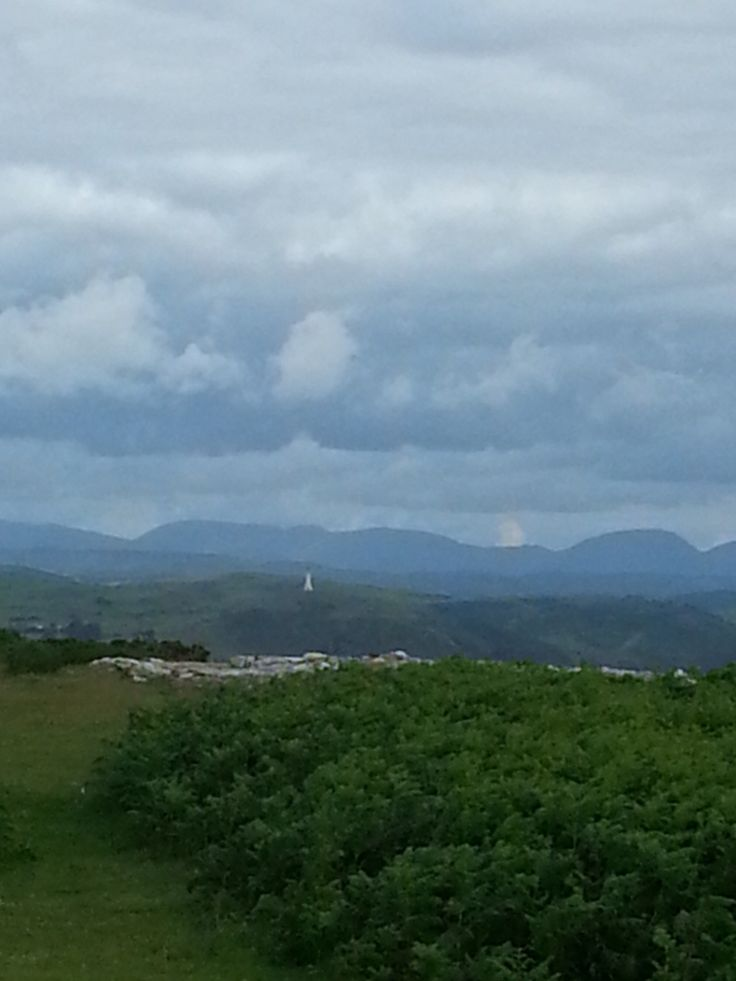 Beautiful view of the Lake District,mountains and the goad in ulverston x