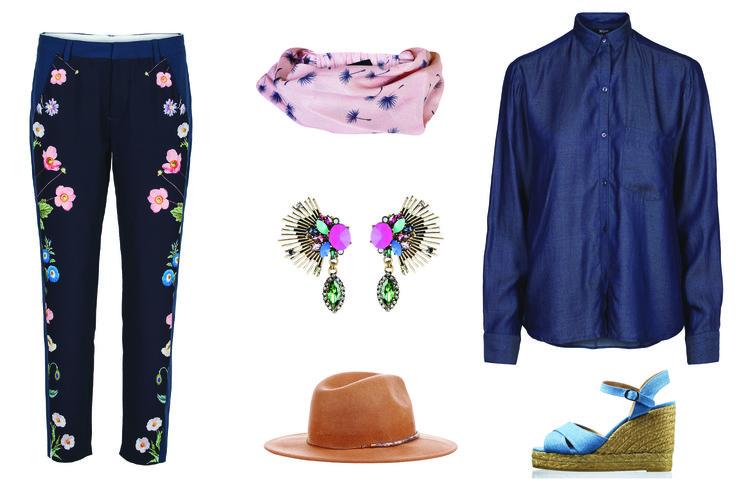 Moderedaktørens favoritter: Stråhat, blomsterbukser og bling bling