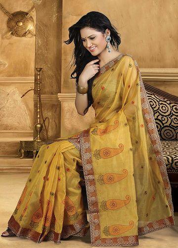 mustard-cotton-saree-10749
