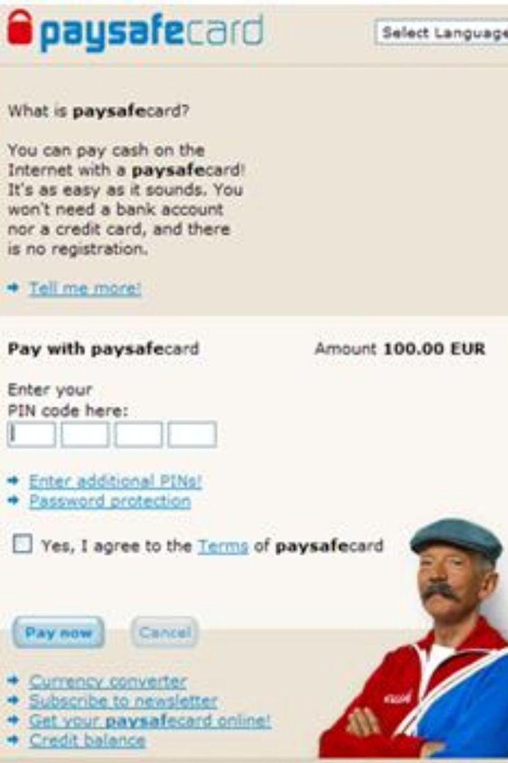 Paysafecard Online Kaufen Deutschland