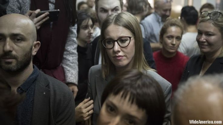 A journalist became the second woman to enter Russia's presidential race, saying on Monday she wanted to use the election to campaign for the rights of single mothers and children. The presidential election takes place in March next year.  #Europe