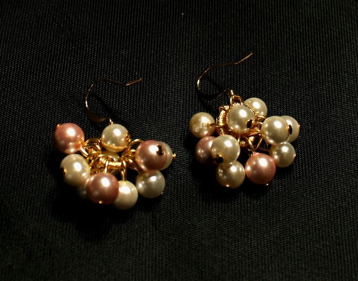 Malur - Cercei din perle de Mallorca