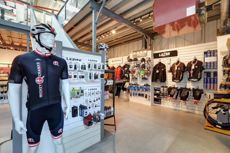 Mickey Cranks Cycling Club Kit modelled by Granger the shop dummy
