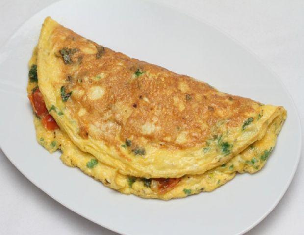 Bärlauch Omelette