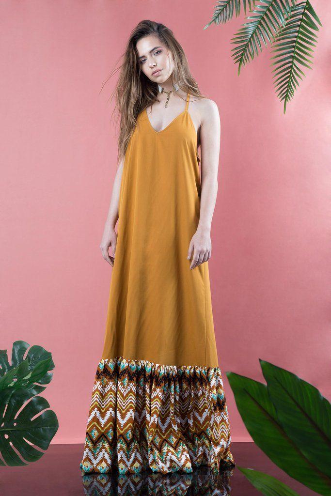 Maxi Triangle Dress