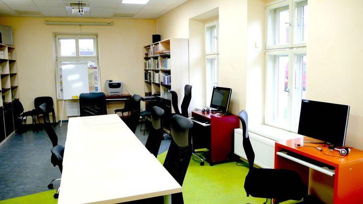 týmová studovna / coworking area / malá učebna - připravujeme od ledna 2015