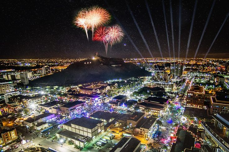 Hello, 2016! See our guide to things to do for NYE in Phoenix.