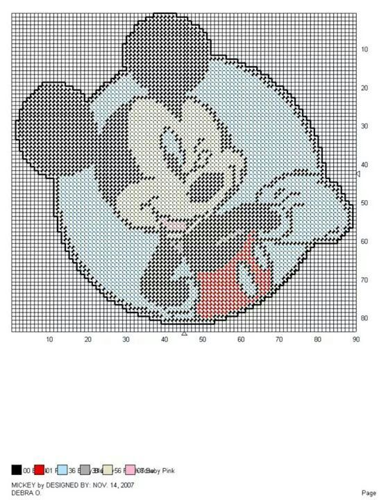 Mickey Mouse | plastic canvas | Pinterest | Mickey mouse ...