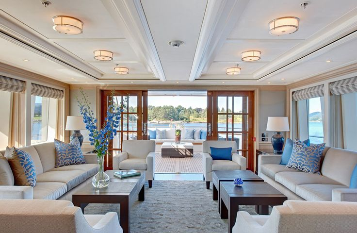 Yacht Interior Design Decoration Of 14 Best Images About Boats On Pinterest Outdoor Fabric