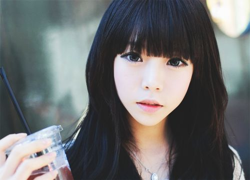 #ulzzang #korean Why do Asians get to be so much more attractive than everybody else >: