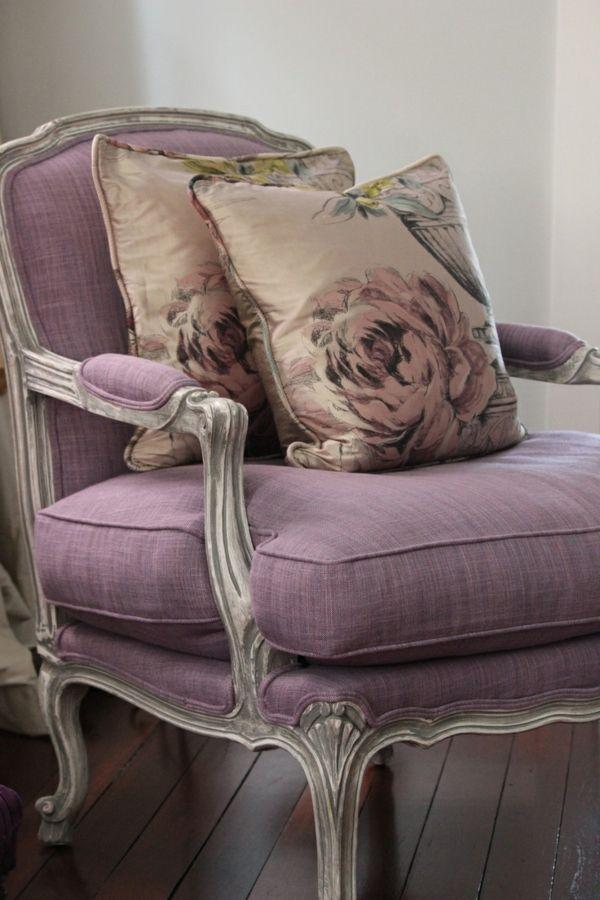 Die besten 25+ Lila stuhl Ideen auf Pinterest bunte Möbel, Bunte - wohnzimmer design lila