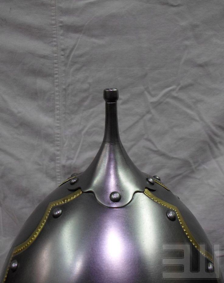 Степные воины из эпохи миграции - 14. Век – 259 photos  Helmet ofPecs  Hungary, dating from the second half  tenth cent