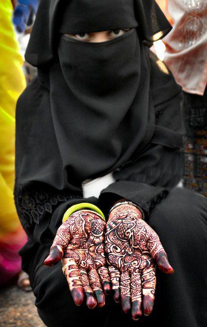 Beautiful oman women veils | Omani Niqab